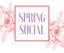 Spring Social at the Edmonton Seniors Centre